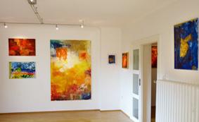 In der Galerie 62, Ausstellung Honigmelonenmond 2014