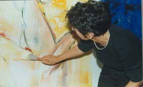 Irmgard Hofmann im Frauenmuseum, Aktion 2000, Artemisia