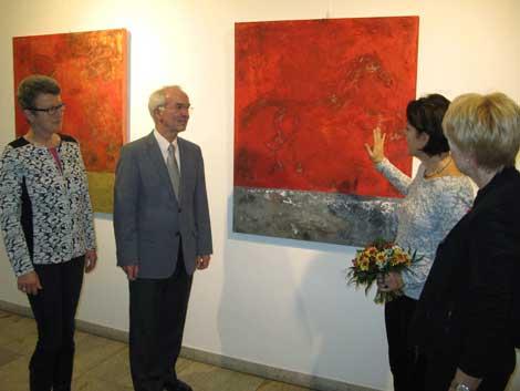 Aufbruch und Ausdehnung, Ausstellungseröffnung am 5. November 2015