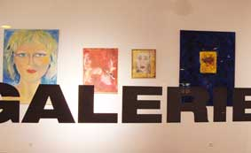 Ausstellung in der Galerie 11 in Köln, Irmgard Hofmann und Elsa Enns