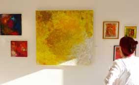 Honigmelonenmond, Ausstellung in der Galerie 62