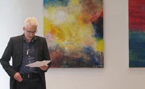 Irmgard Hofmann, Ausstellungseröffnung