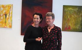 Feuer, Licht und Magie 2015 Irmgard Hofmann und Jutta Dornhöfer