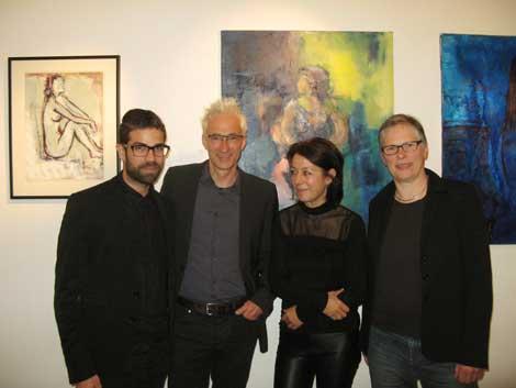 Frauen- Porträts und Akte, hier mit D. Cafisso, H. Gesterkamp, I. Hofmann und H. Burmester