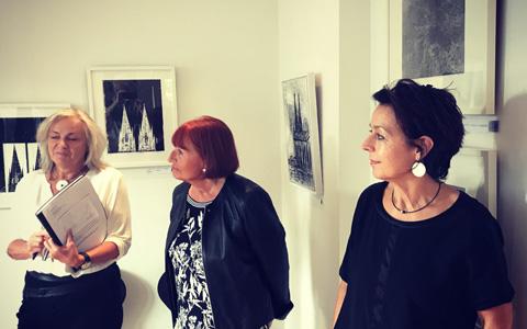 Ausstellung in den Freiräumen in Bonn-Vilich