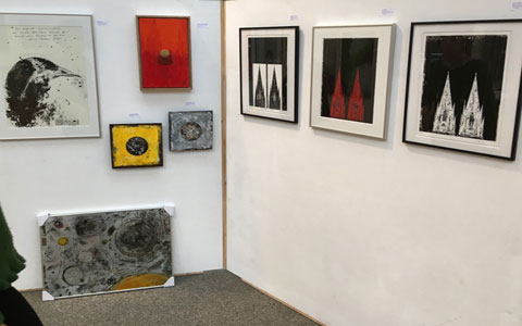 Kunsttage Hennef 2018, Irmgard Hofmann