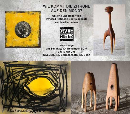 Einladung zur Vernissage in der Galerie 62