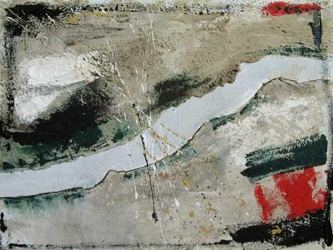 Pandsch, Bild von Irmgard Hofmann aus der BBK-Ausstellung Grenzgänger