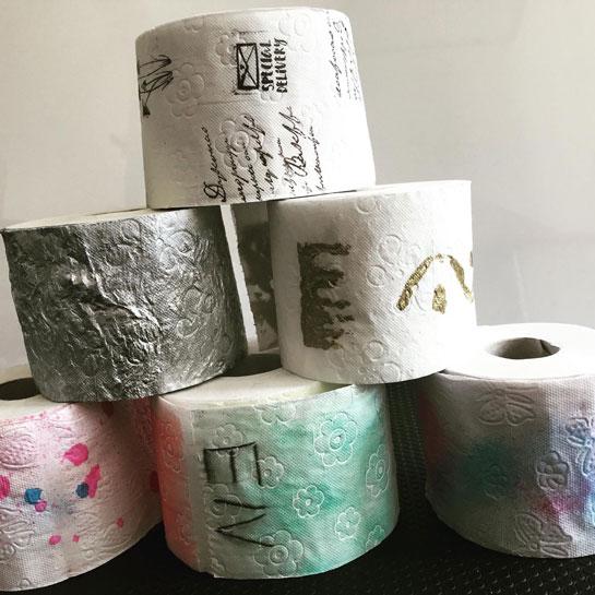 Corona-Toilettenpapier