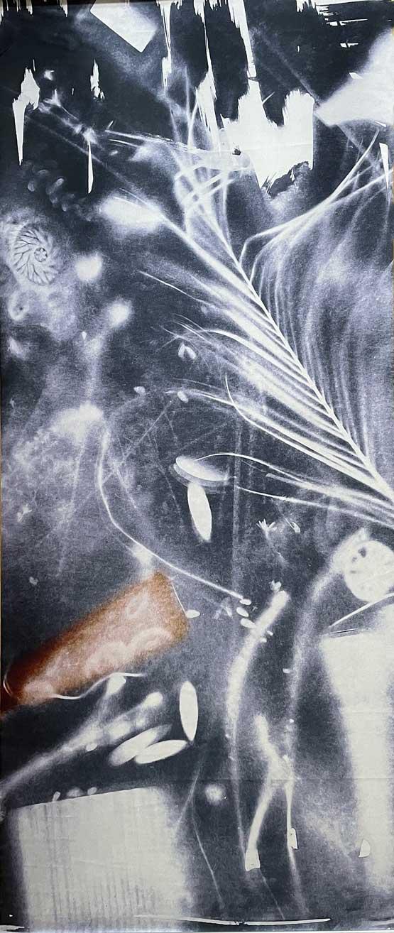 Irmgard Hofmann-Blue Monday-Digital Art